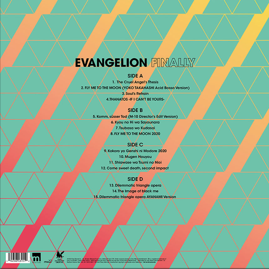Evangelion Finally 2xLP