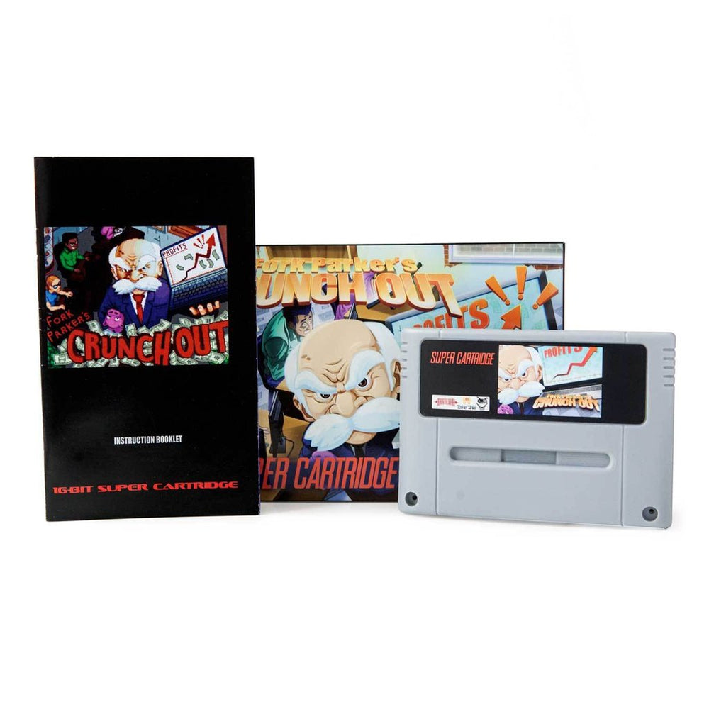 Fork Parker's Crunch Out - Super Nintendo Cartridge 2