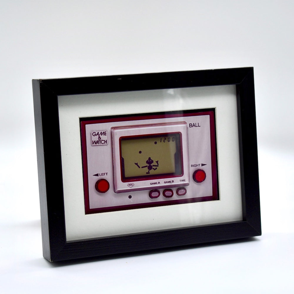 Game & Watch 3D Diorama