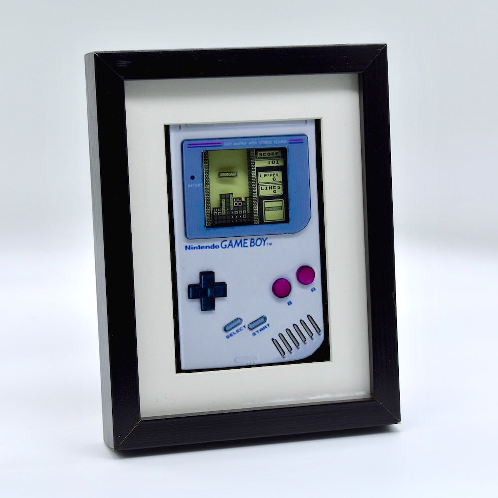 Gameboy 3D Diorama