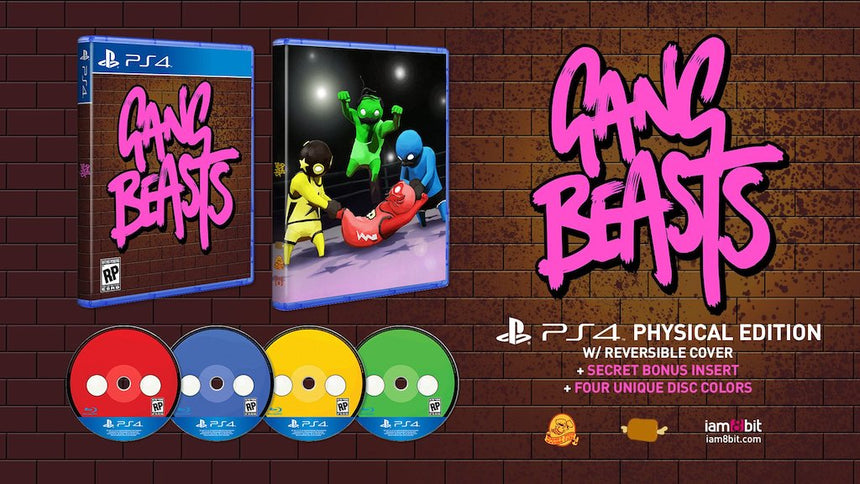 Gang Beasts PS4 Physical Game 2
