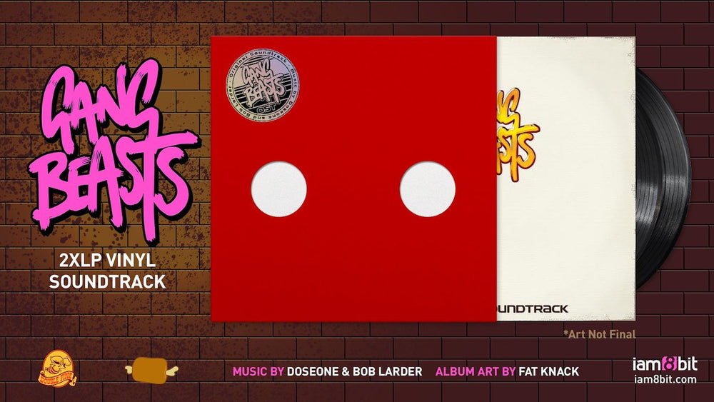 Gang Beasts Vinyl Soundtrack 2
