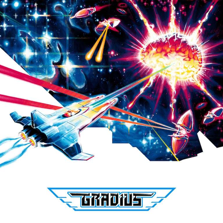 Gradius Vinyl Soundtrack from LP Cover