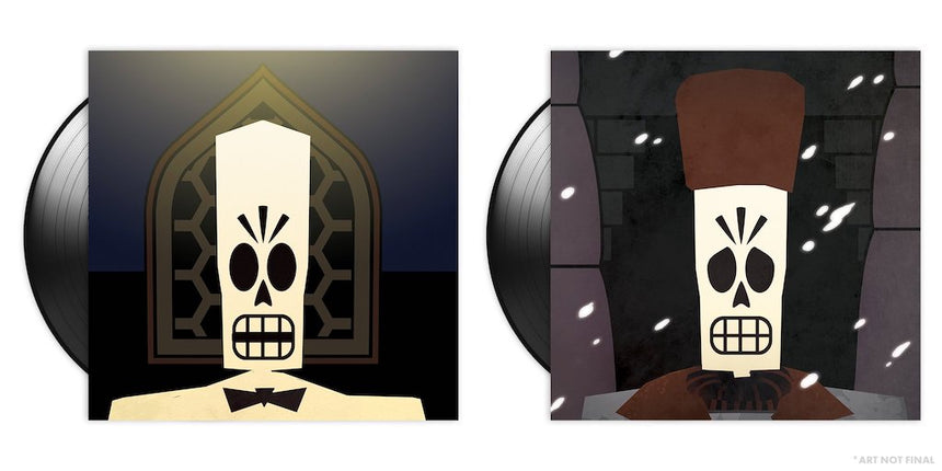 Grim Fandango 2xLP Vinyl Soundtrack gatefold artwork