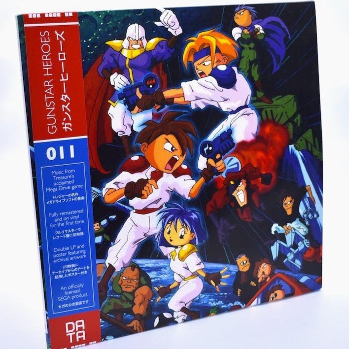 Gunstar Heroes - Video Game Soundtrack 2XLP