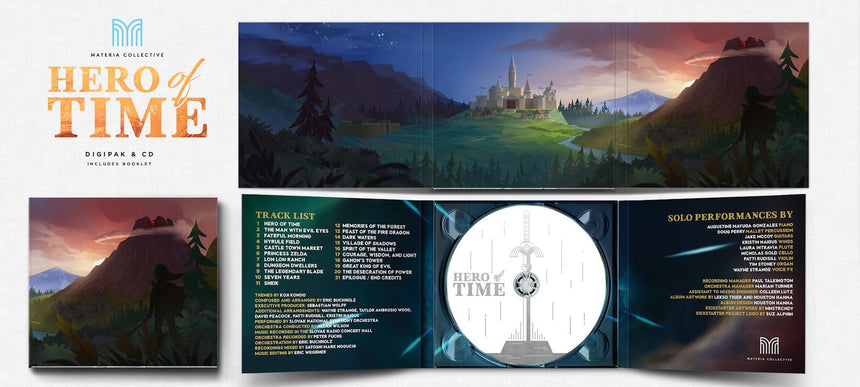 Hero of Time (Compact Disc) Music from the Legend of Zelda: Ocarina of Time