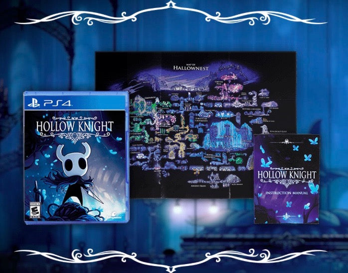 Hollow Knight PS4 Physical Game