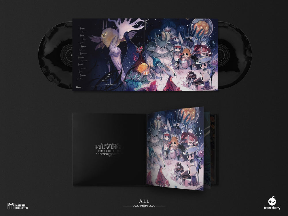 Hollow Knight Piano Collections 2xLP