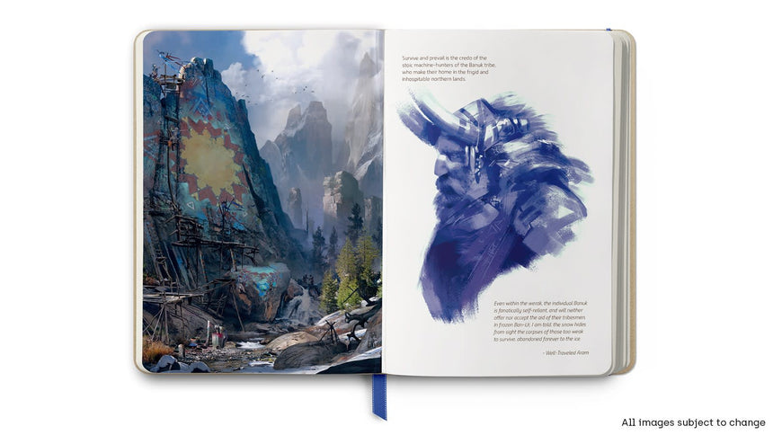Horizon Zero Dawn Notebook Limited Edition