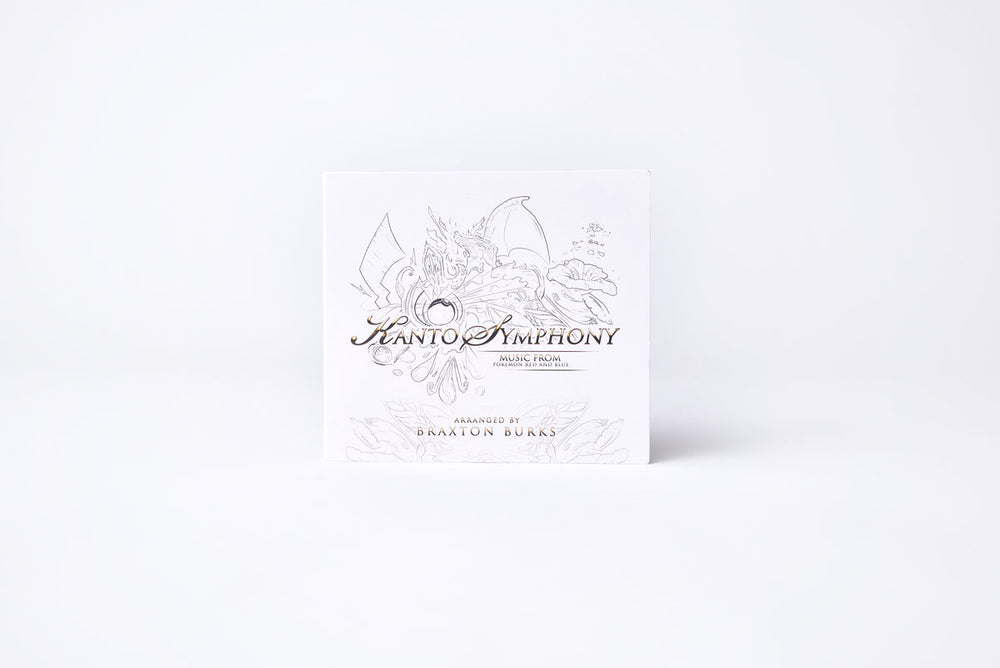 "Kanto Symphony (Music from ""Pokémon Red and Blue"") CD"