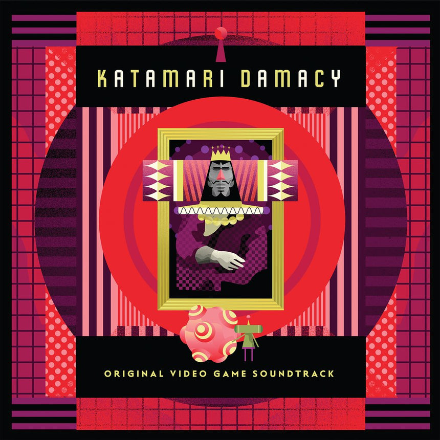 Katamari Damacy - Original Video Game Soundtrack 2XLP Front Cover