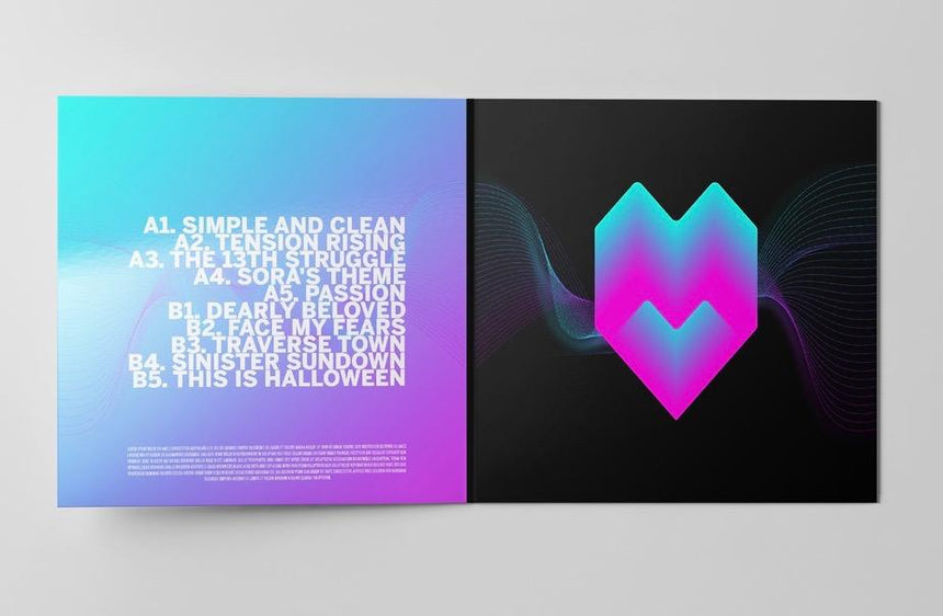 Kingdom Heartbeats LP Gatefold art