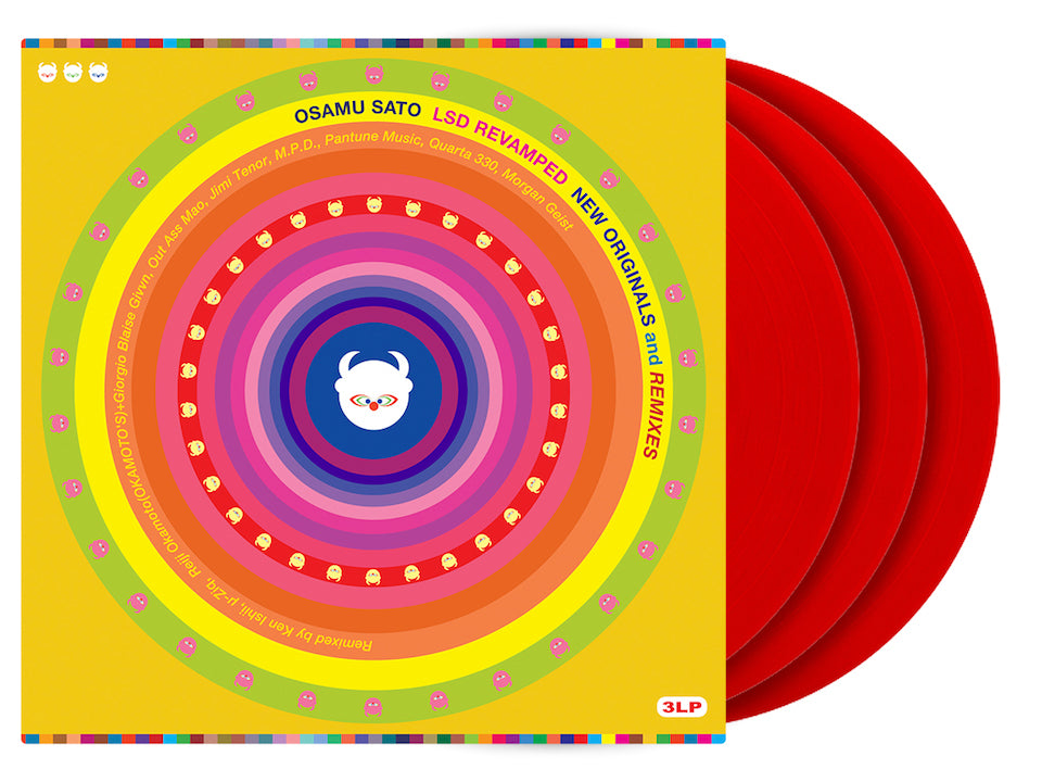 LSD Revamped Red Coloured Vinyl