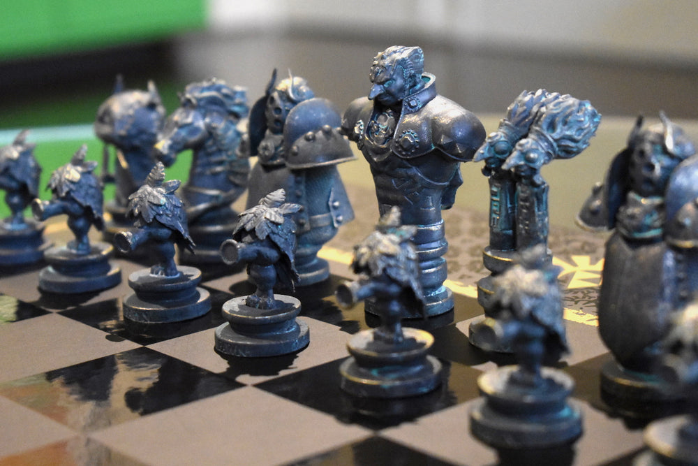 Zelda chess dark side pieces