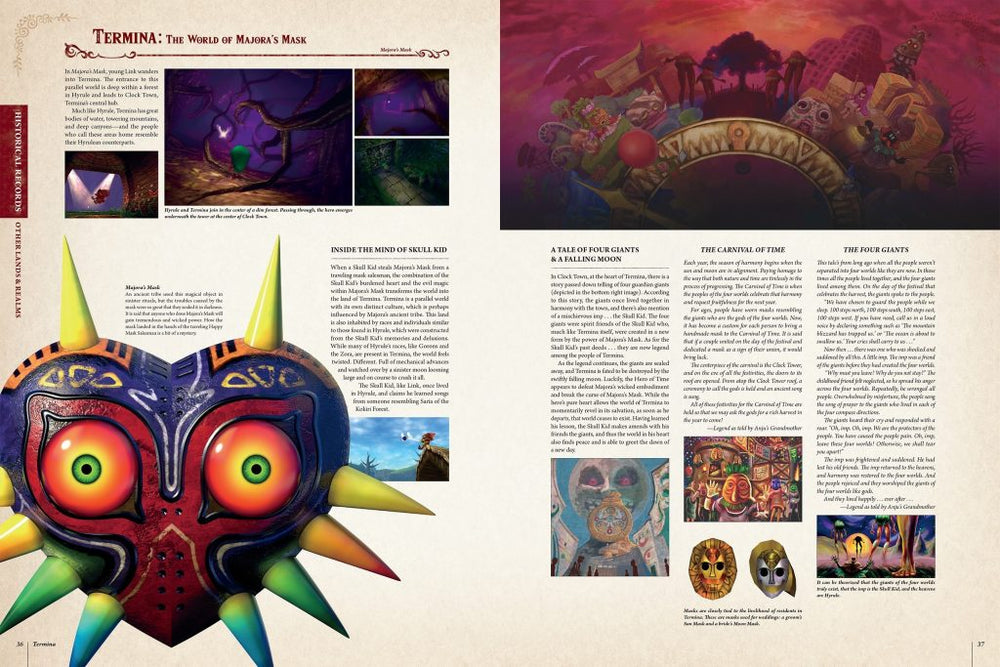 Legend of Zelda Encyclopedia Majora's mask