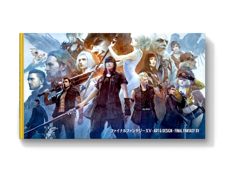 The Art and Design of Final Fantasy XV - Limited Edition Cover