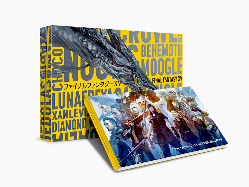 The art and design of Final Fantasy XV Collector's Edition