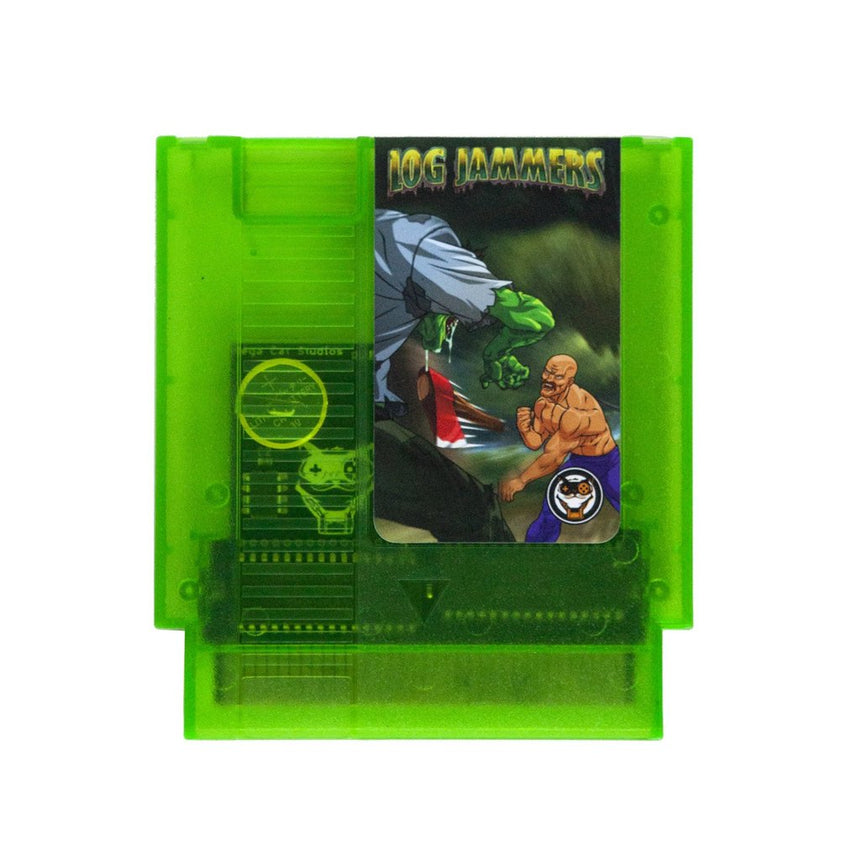 Log Jammers Green Coloured Cartridge