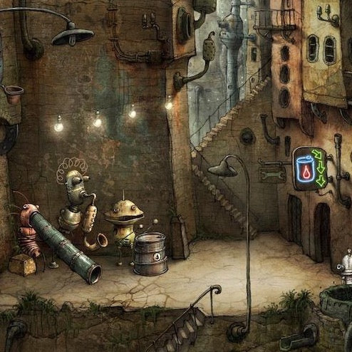 Machinarium Video Game Art