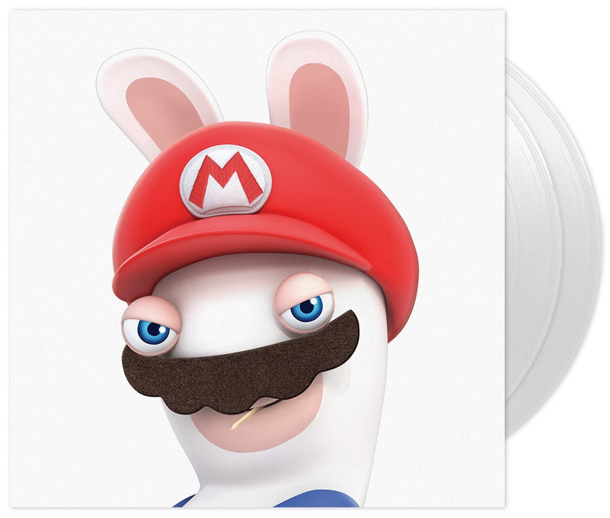Mario + Rabbits Kingdom Battle Vinyl Soundtrack Cover