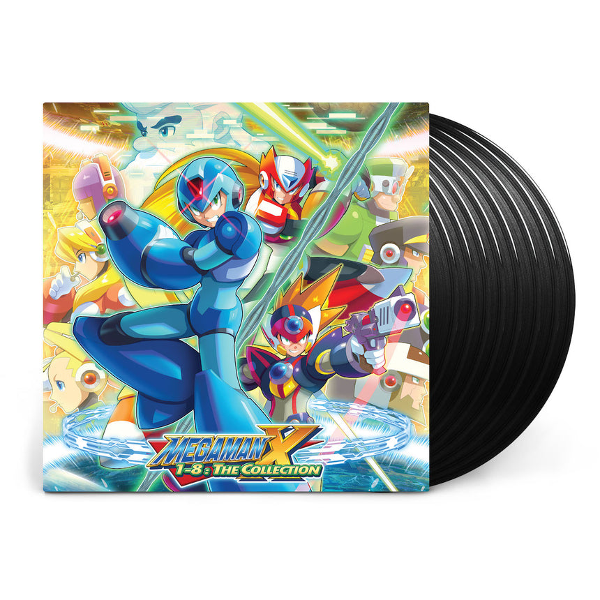 Mega Man™ X 1-8: The Collection (Limited Edition 8xLP Box Set)