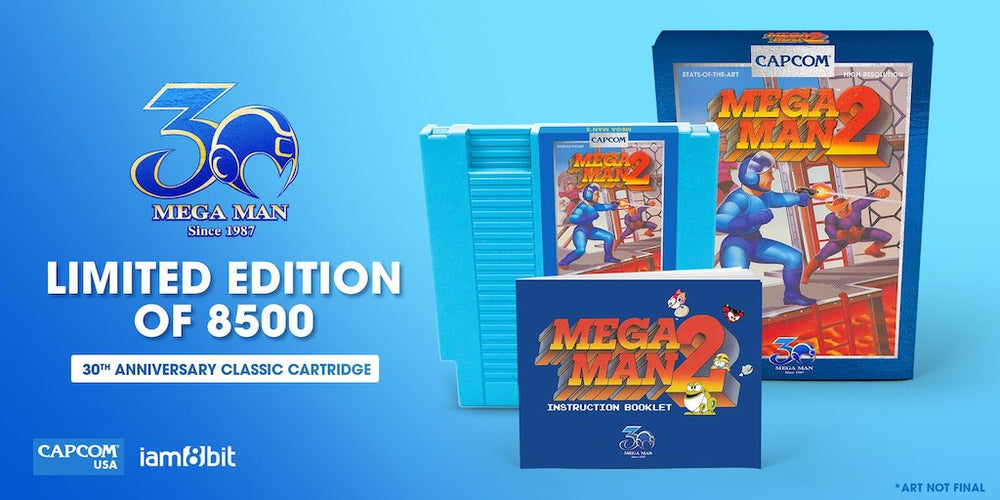 Mega Man 2 - 30th Anniversary Classic Cartridge 2