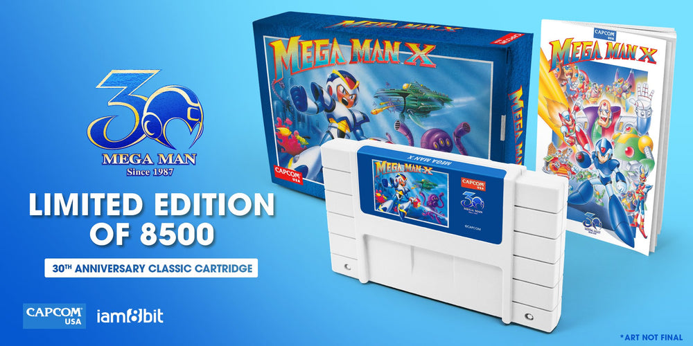 Mega Man X - 30th Anniversary Classic Cartridge 2