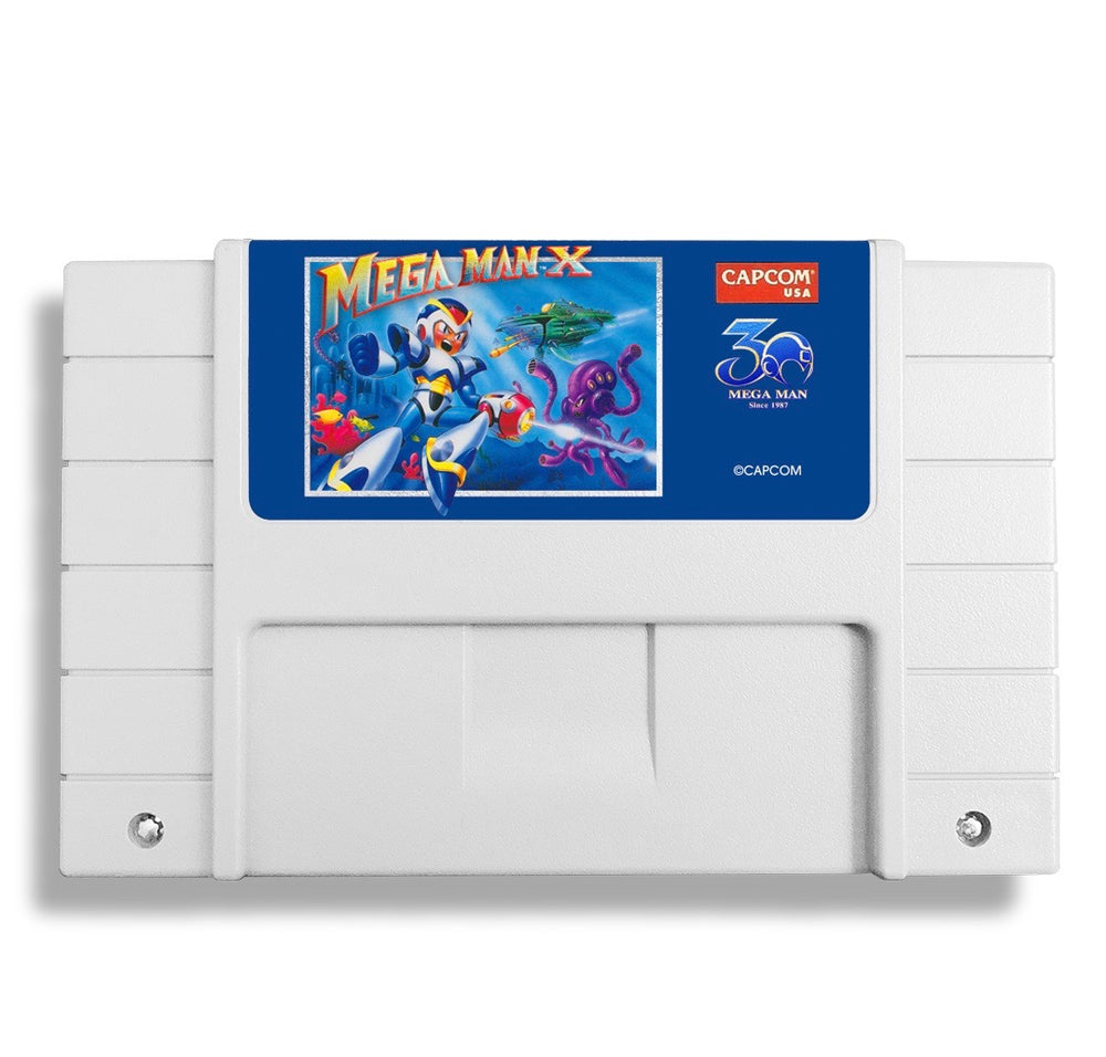 Mega Man X - 30th Anniversary Classic Cartridge 3