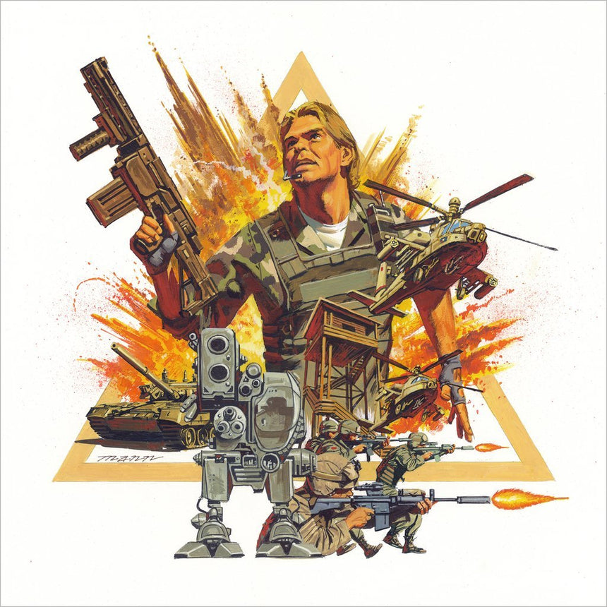 Metal Gear - Original MSX2 Video Game Vinyl Soundtrack