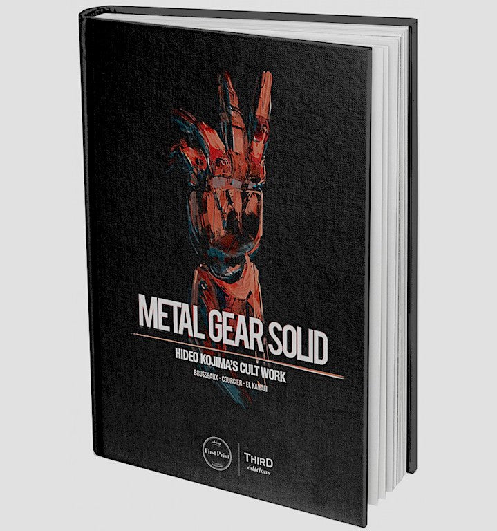 Metal Gear Solid Hideo Kojima's Cult Work Hardcover Book
