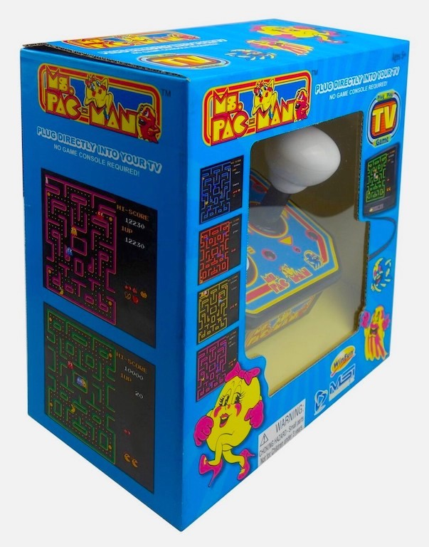 Ms. Pac-Man Plug & Play Joystick Console