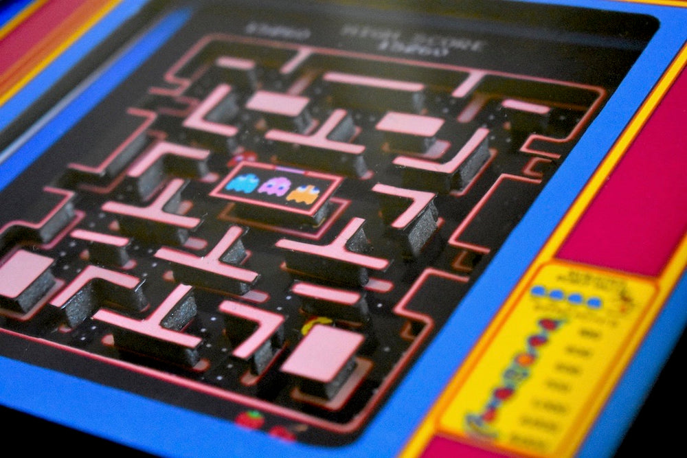 Ms Pac Man 3D Diorama close up