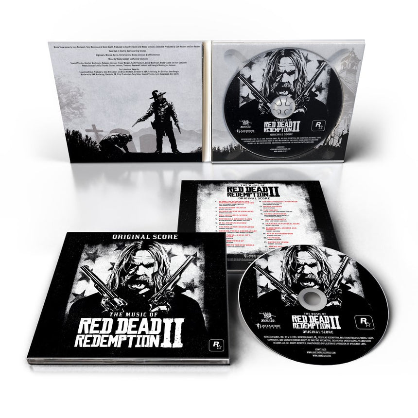 The Music of Red Dead Redemption 2: Original Score CD