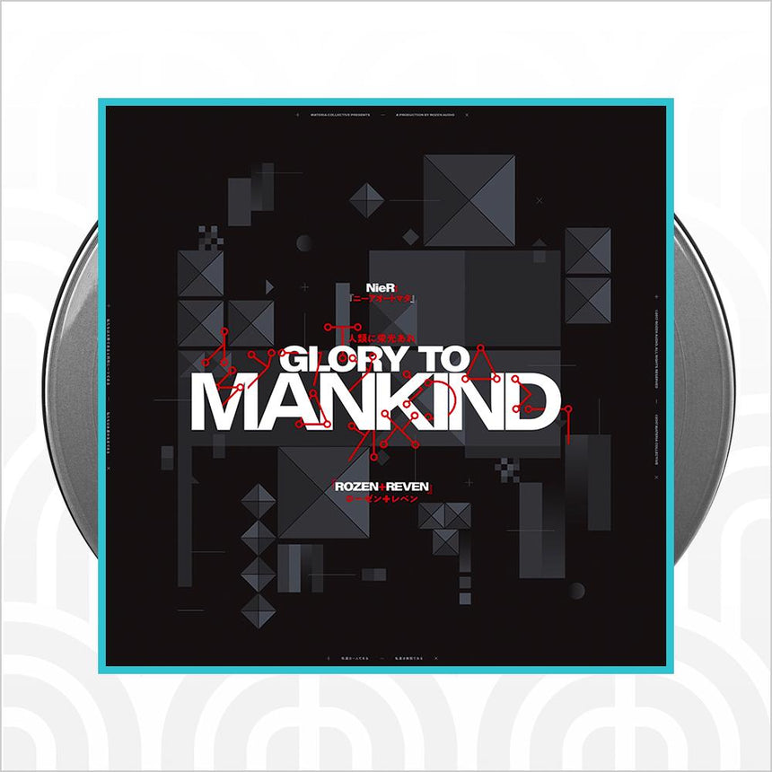 NieR Glory to Mankind (Limited Edition 2xLP Silver Vinyl)
