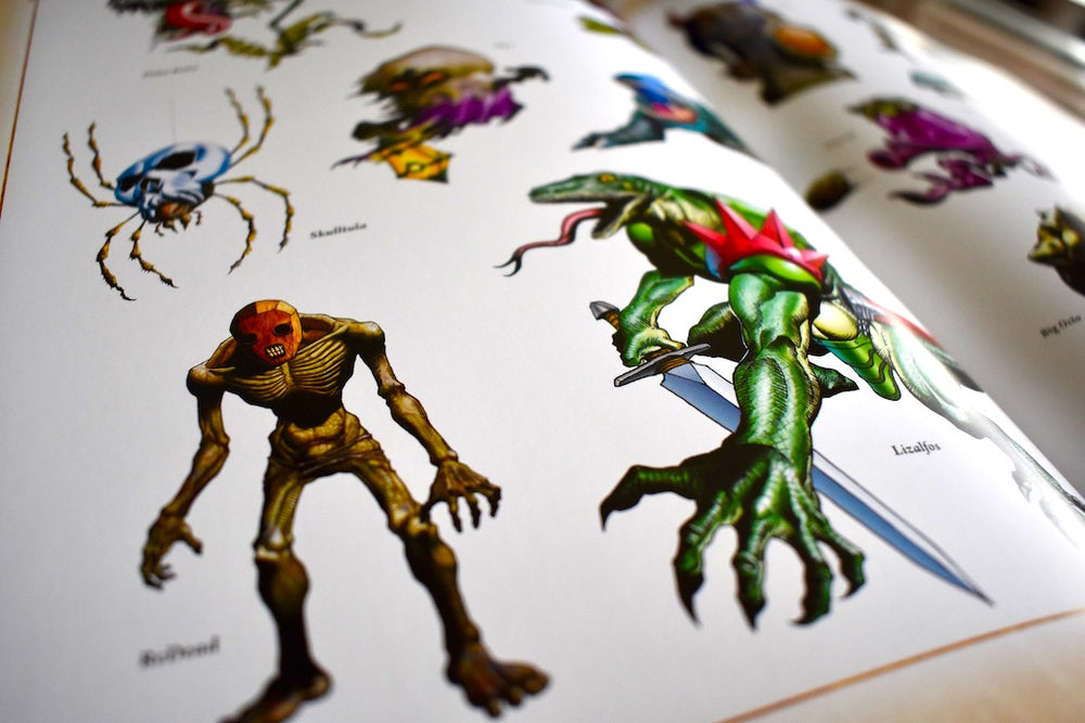 Ocarina of time enemy art