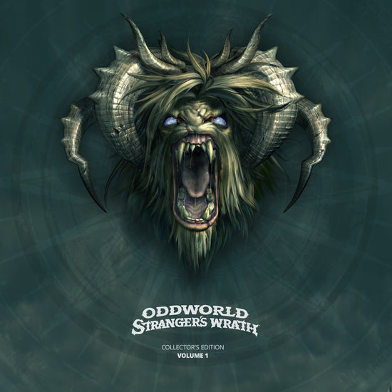 Oddworld Stranger's Wrath (Official Soundtrack) Vinyl Record front Cover