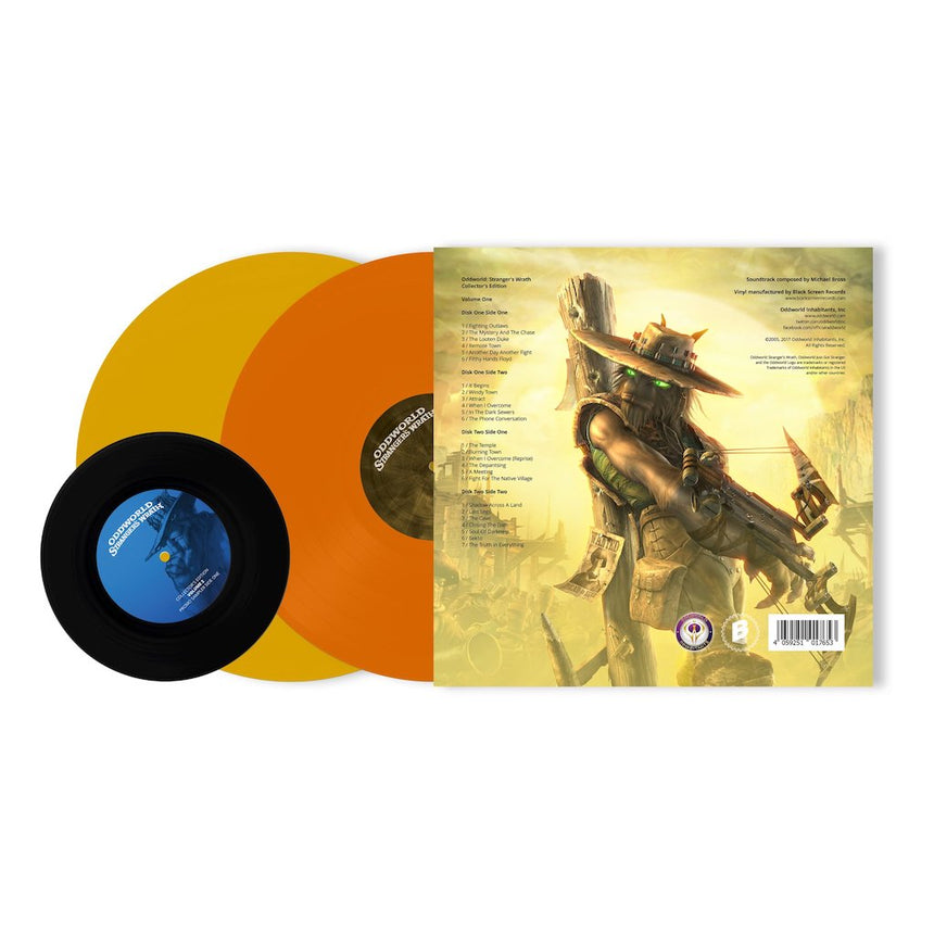 Oddworld Stranger's Wrath (Official Soundtrack) gatefold art