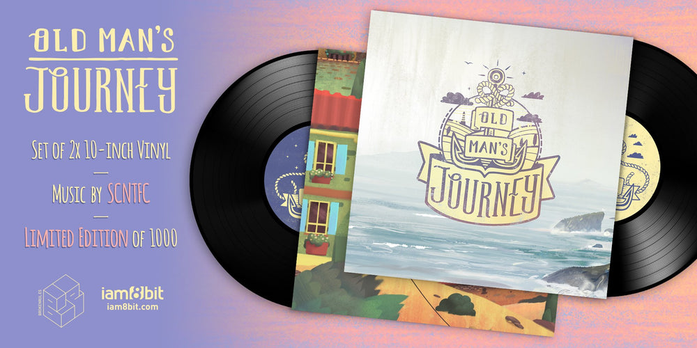 Old Man's Journey Soundtrack LP gatefold art
