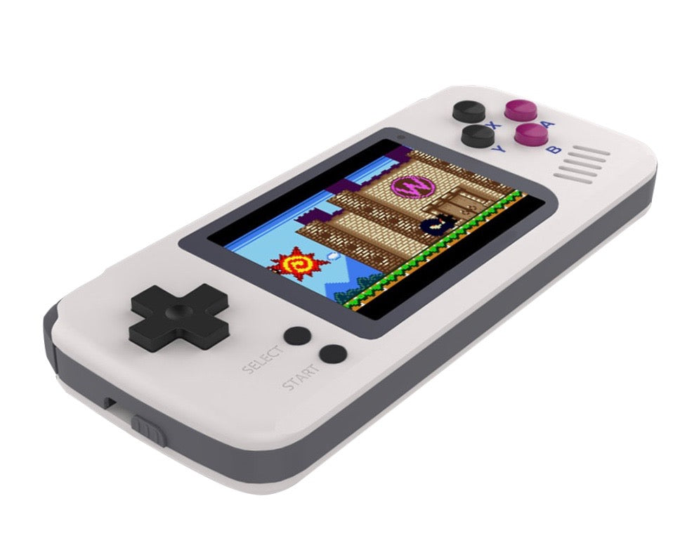 POCKETGO RETRO CONSOLE lying flat