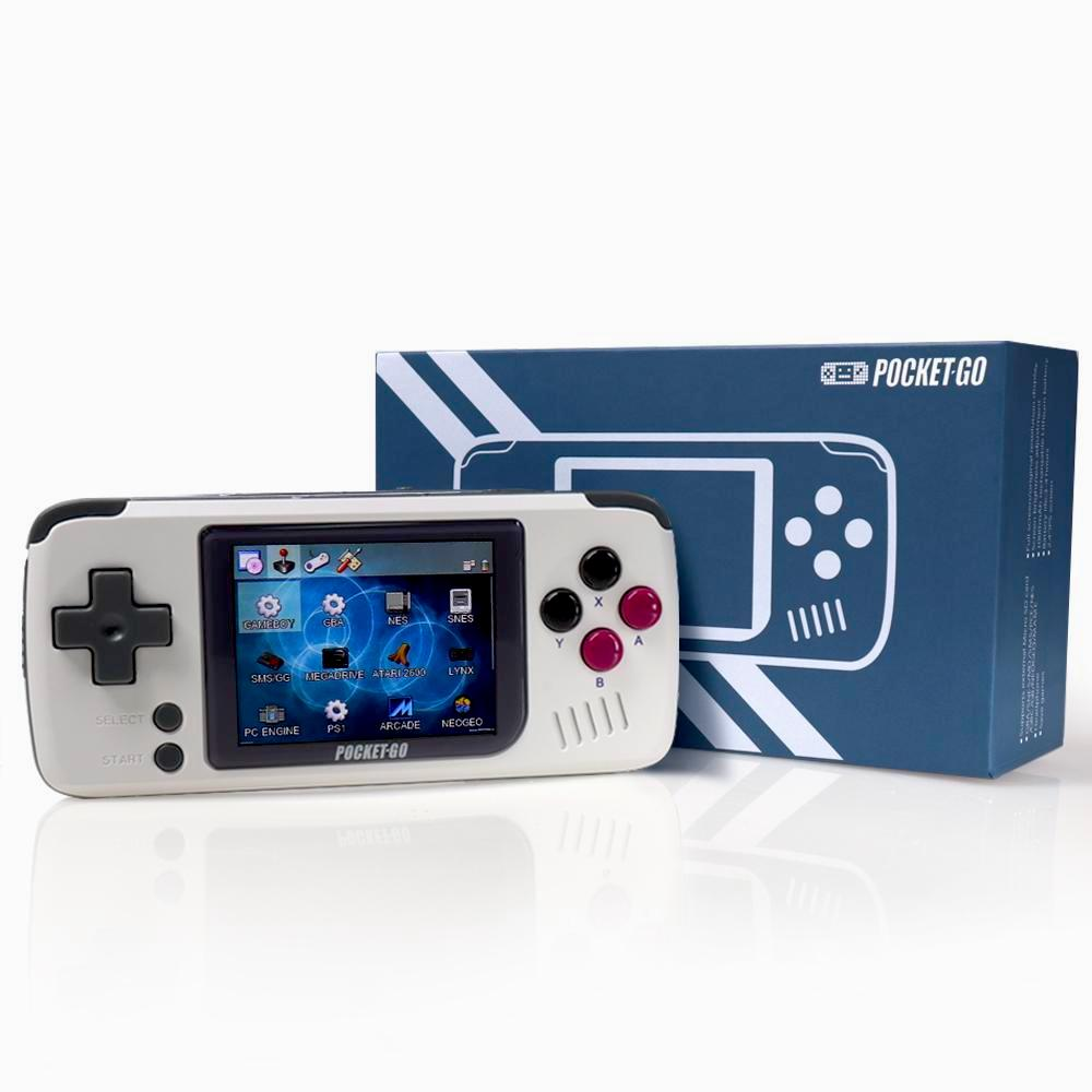 POCKETGO RETRO CONSOLE with box