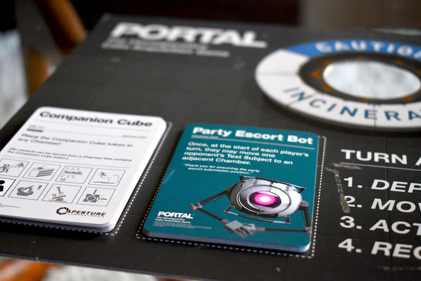 Portal board game cards