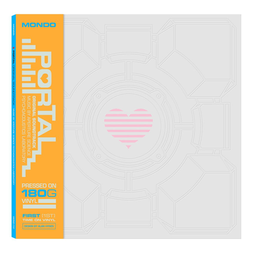 Portal Vinyl Soundtrack Cover