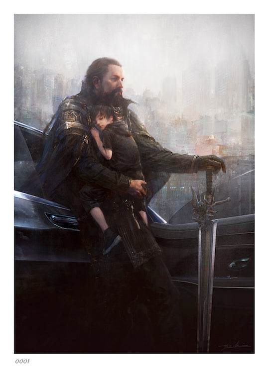 The Art and Design of Final Fantasy XV - Limited edition print one