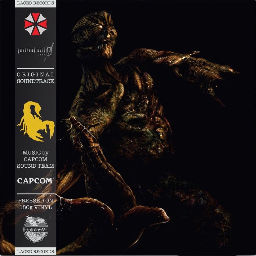 RESIDENT EVIL 0 (DELUXE DOUBLE VINYL) front cover