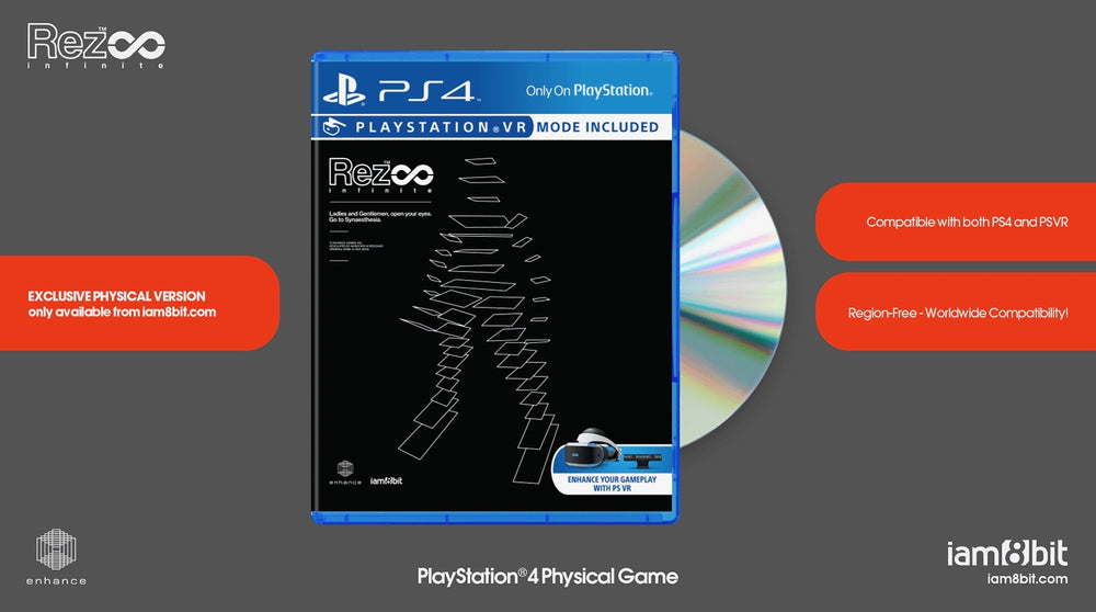 REZ Infinite PS4 Physical Game 2