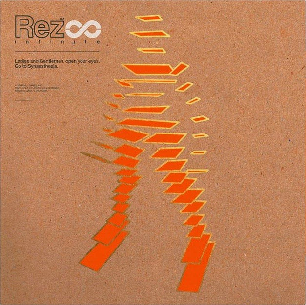 Rez Infinite Vinyl Soundtrack front cover