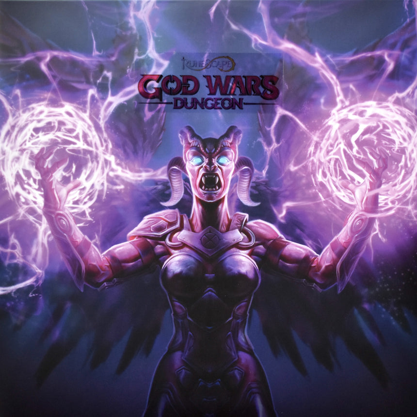 RuneScape God Wars Dungeon Deluxe Double Vinyl