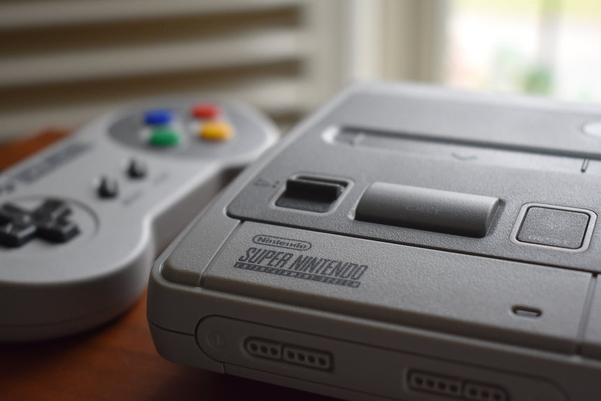 SNES Classic Mini Console and Controller