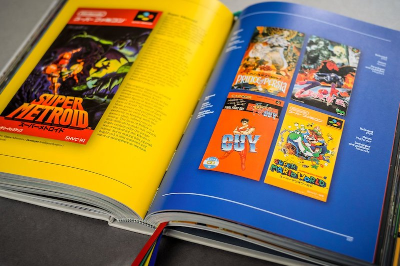 SNES Famicom A Visual Compendium Super Metroid