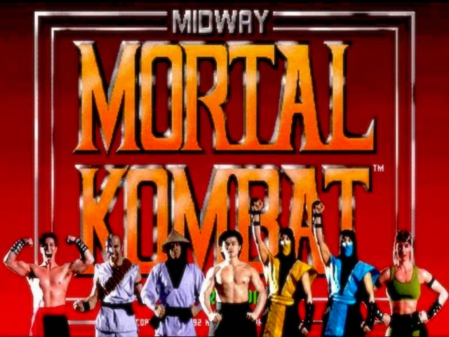 Sega Genesis / Mega Drive Flashback HD Mortal Kombat Game Screen